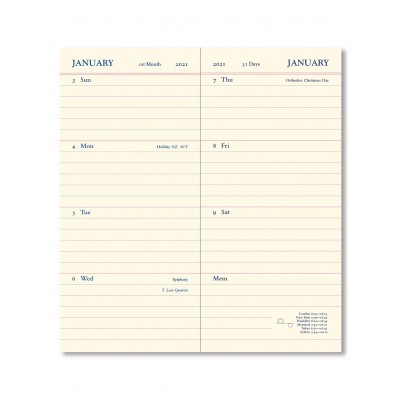 Legacy Slim Pocket - 1S/2P + plannings - 2021