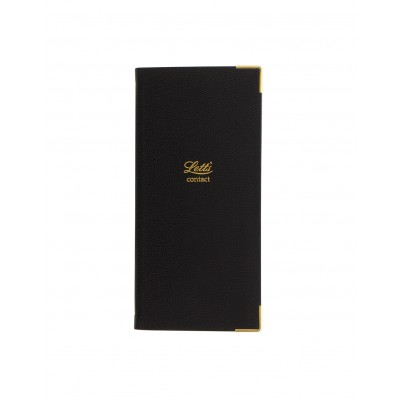 Carnet d'adresses Classic - Slim Pocket - Black